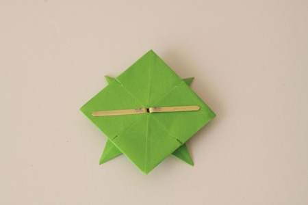 Origami Wreath Tutorial (11)