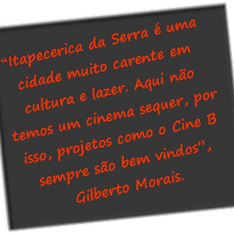 Cine B comemora o Sucesso em Itapecerica da Serra.
