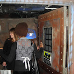 lockup restaurant entrance in Kabukicho, Tokyo, Japan