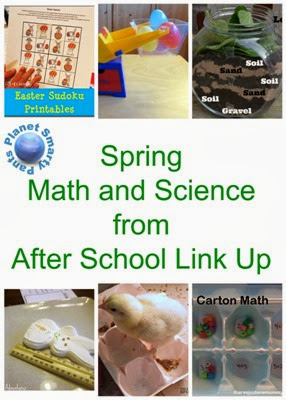 Spring Math and Science Ideas from After School Link Up