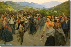 Vuelta de la romería del Calvario - Ignacio Díaz Olano