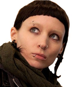 Rooney Mara in - The Girl with the Dragon Tattoo