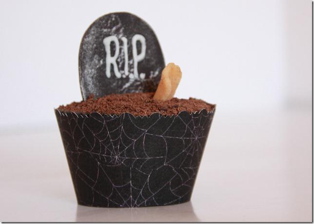 halloween cupcakes creepy gravstøtte IMG_7005