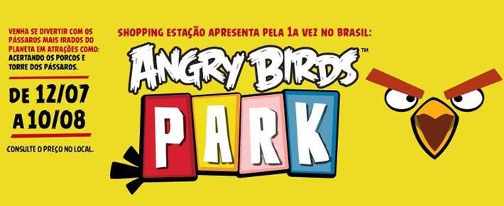 angry birds shopping estacao curitiba