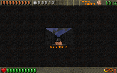 buy a 486 - Rise of the Triad Easter Egg
