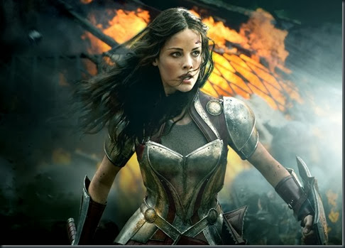thor the dark world widescreen wallpaper sif