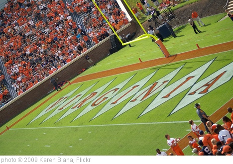 'Virginia endzone' photo (c) 2009, Karen Blaha - license: http://creativecommons.org/licenses/by-sa/2.0/