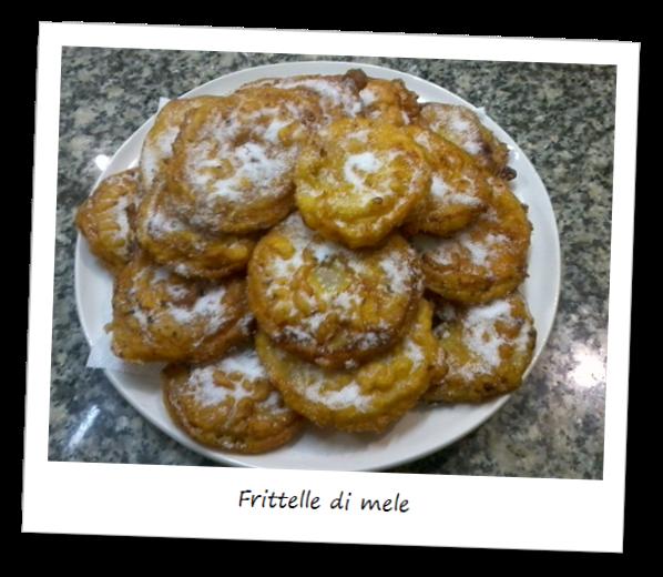 Fotografia dei dolci frittelle di mele