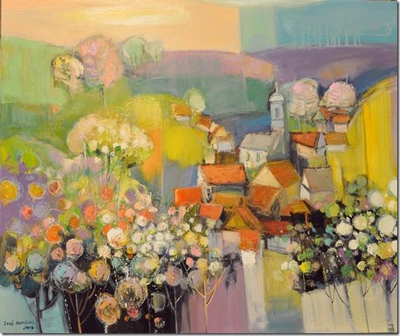 Spring atmosphere-Iosif Derecichei-Enkaustikos