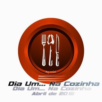 Logotipo Dia Um... Na Cozinha Abril 2015
