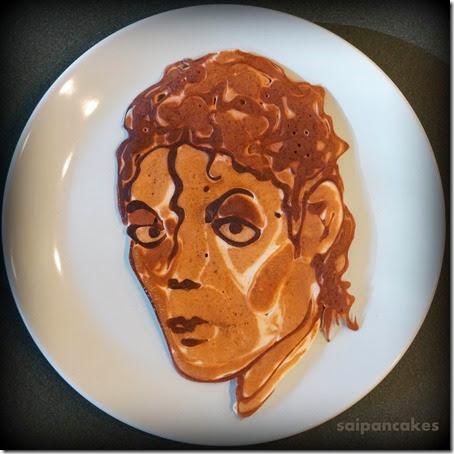 Michael Jackson Pancake