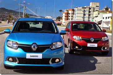 Novo Sandero 2015 - Dynamique 1.6 - Foto: Luiz Costa / Agência La Imagem.