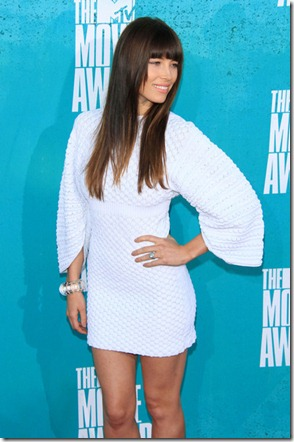 Jessica Biel Celebs 2012 MTV Movie Awards Lfr3rFy0bdVl