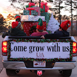 UACCH-Texarkana Christmas Parade 2013