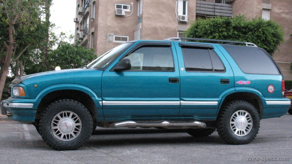 1998 gmc jimmy suv specifications pictures prices. Black Bedroom Furniture Sets. Home Design Ideas