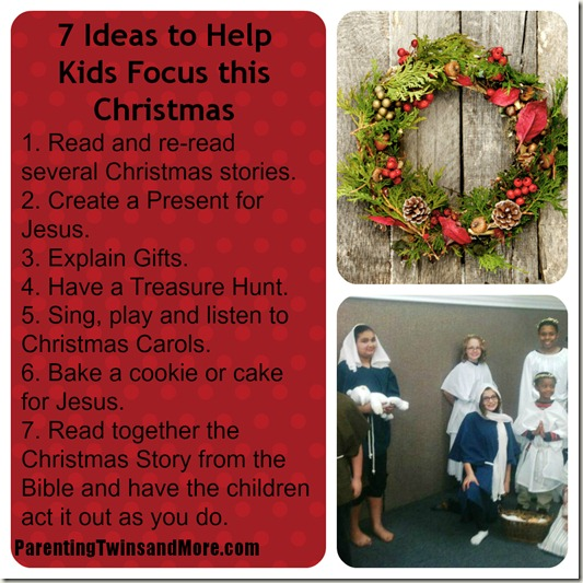 PicMonkey CHristmas  Collage - 7 Ideas to Help Kids FOCUS this Christmas