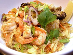 Pancit guisado at Cocina Sunae, photo courtesy of Christina Sunae [all rights reserved]