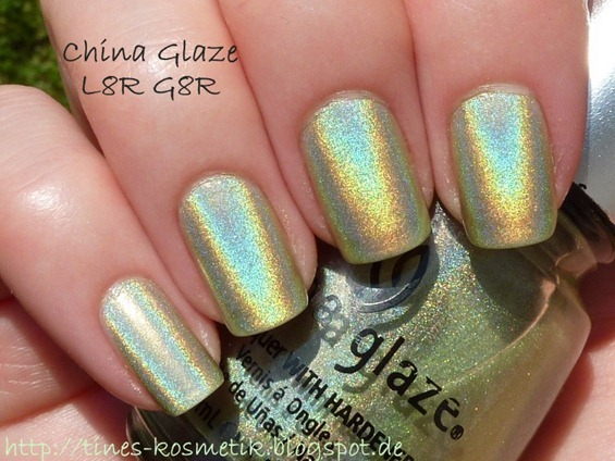 China Glaze L8R G8R 3