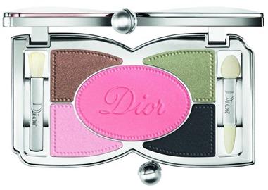 Palette Trianon eyeshadows eyeliner & cheekblush 001 Favorite - open