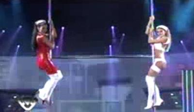 Baile del caño de Silvina y Vanina Escudero 2011