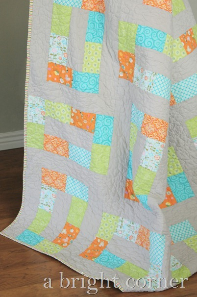 Unlinked Twin Size Quilt