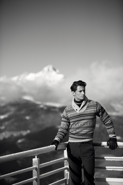 Garrett Neff for Gant F/W 2011-12, photo credit TBD