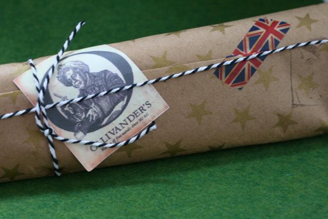 Ollivander's Wand Packaging