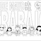 Dibujo Dia del Trabajador 4