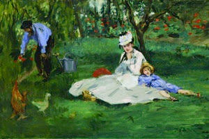Édouard Manet The Monet Family in Their Garden at Argenteuil