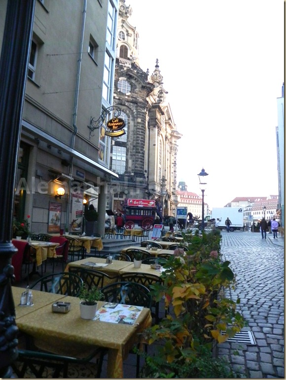 A Frauenkirche e mais restaurantes tentadores