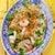Sałatka z makaronu z fasoli mung i wietnamskiej kiełbasy