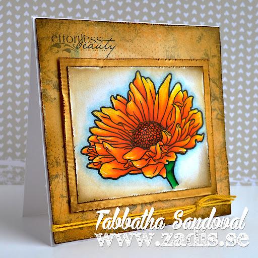 Effortless Beauty Flower Card