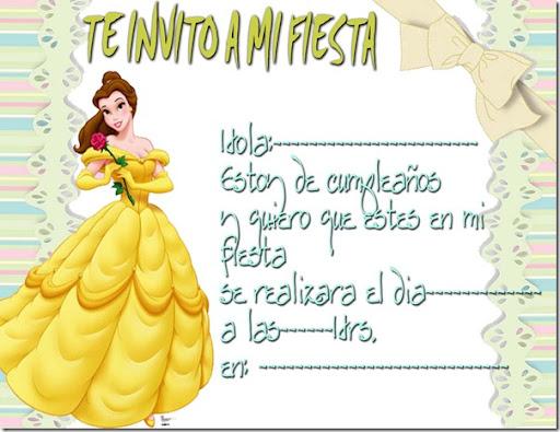 Tarjetas de invitación de cumpleaños de hadas para imprimir - Imagui