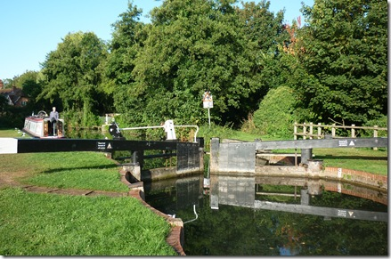 sheffield lock with jammed gate