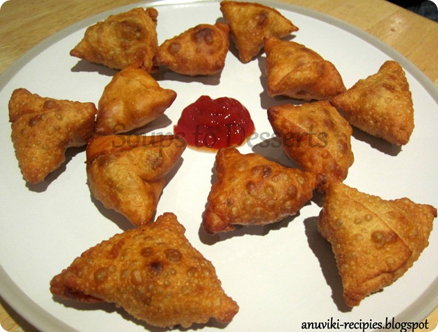Vegetable Samosa 1