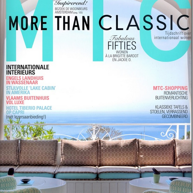 My home featured in the latest issue of 'More Than Classic'.