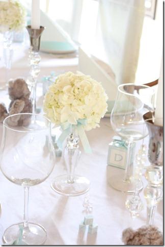 barnedåp inspirasjon baby gutt blå borddekking blomster IMG_2517