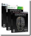 Dishonored game of the year boxart
