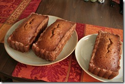 Pumpkin bread 001
