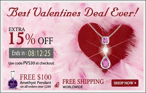 Angara Valentine's Offer