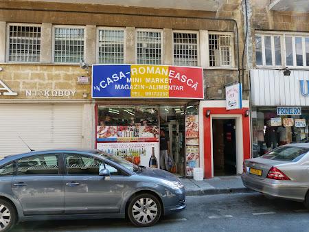 Magazin romanesc Nicosia Cipru