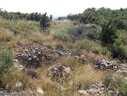 Restos de viviendas - Castro El Castellar de Javier