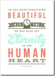 He has made everything beautiful God