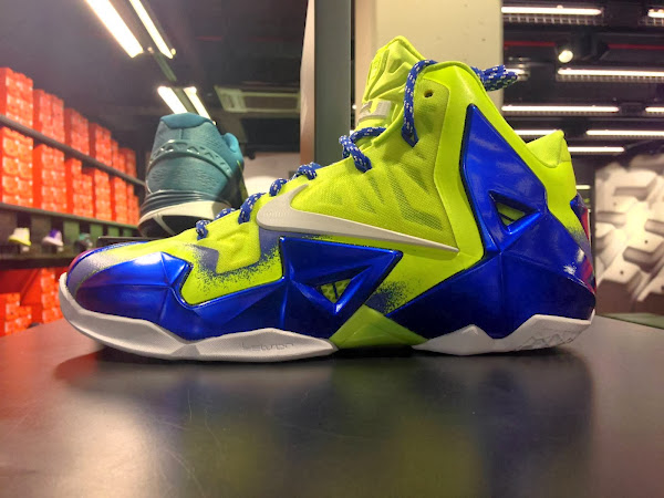 Preview of NIKEiD LeBron XI Forging Iron Personalization Option