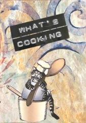 Kliban cat whats cooking atc2
