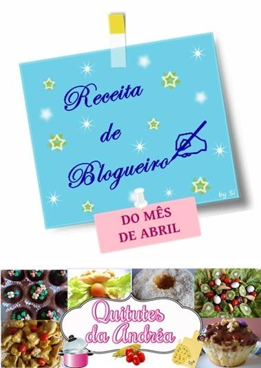 Receita de Blogueiro - Andréa