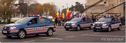 Dacia toont nieuwe modellen aan de overheid 06
