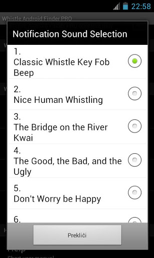 Whistle Android Finder PRO v 4.2
