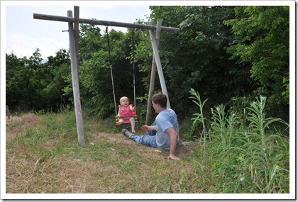Daddy & Isla Swing