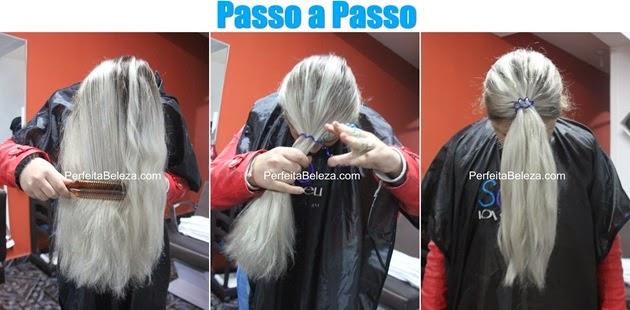 cabelo colorido passo a passo, cabelo azul passo a passo